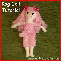 DIY Fabric Dolls : DIY Rag Doll