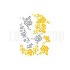 Lolitattoo FLOWERS -  Tato temporer  Berbasis air  Menggunakan bahan berkualitas tinggi  Aman di kulit  Tahan 4-7 hari  Ukuran 14x10.5 cm  Mudah digunakan dan aman  Gambar Bunga