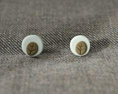 Casi casi primavera: pendientes pequeños en arcilla polimérica