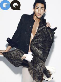 2AM's Im Seulong GQ Korea Magazine May Issue '11