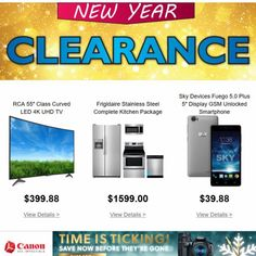New Year Clearance: Trending Deals ... • Save Big On Electronics & Appliances • Shop Now • Tap the link in our bio - Click on the Current Ad Banner