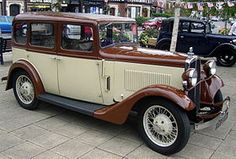 The BSA Ten is a small car manufactured for BSA Cars by BSA subsidiary The Daimler Company Limited. Announced in October 1932[1] first deliveries were delayed until February 1933.[3] A cheaper and less well-finished version of the Lanchester Ten[4] with a smaller side-valve engine of BSA design. An offering to try to meet the market of the Great Depression.