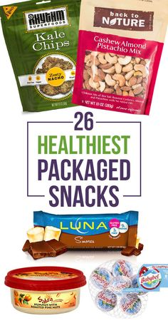 In an ideal world, all of your meals and snacks would be homemade. In the real world, sometimes you'll have to reach for packaged food. Try to make the best of it by choosing whole, healthy snacks.