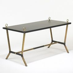 Jacques Adnet, Coffee Table, c1950.