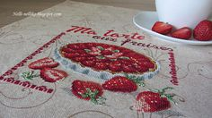 Nelli: Клубничный пирог / Ma tarte aux fraises