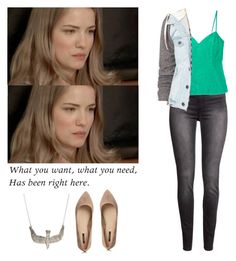 Emma Duval - mtv scream by shadyannon on Polyvore featuring polyvore fashion style Christian Dior Thread & Supply H&M Forever 21 clothing
