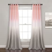Pink Curtains, Grommet Curtains, Window Curtains, Blackout Curtains, Bedroom Curtains, Pink And White Curtains, Luxury Curtains, Room Window, Home Decor Outlet