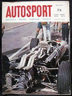 AUTOSPORT MAGAZINE 5 MAY 1967 - MONACO GRAND PRIX, NEW FORD FORMULA 1 ...