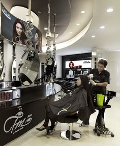 color area Beauty Salon Interior, Surabaya, Salons, Kitchen Appliances, Color, Salon Interior, Diy Kitchen Appliances, Lounges, Home Appliances