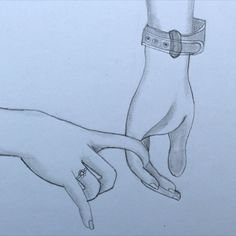 How to draw holding Hands pencil drawing || Girl and Boy hand sketch drawing
