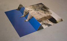 "Letha Wilson  ""hoodoo pyramid"" digital c-print mounted on paper, wood, concrete"
