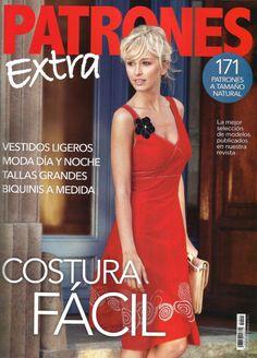 Nuevos PATRONES revista EXTRA costura fácil (fácil coser).-