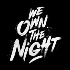 Creative Typography and Night image ideas & inspiration on Designspiration Typography Images, Typography Quotes, Typography Inspiration, Typography Poster, Typography Design, Design Inspiration, Types Of Lettering, Brush Lettering, Calligraphy Letters