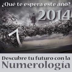 ¿Qué te espera este año según la Numerología? Aprende a calcular tu número de Vibración Anual y descubre cómo será el 2014 para ti. Pulsa Aquí -> http://laguiaesoterica.com/numerologia-2014/
