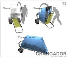 Changador, by Marco Praga + Michinao Komatsu + Nestor Marsiglia