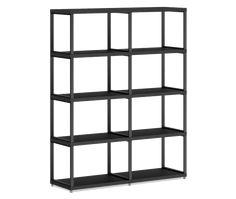 Regalsystem konfigurierbar MAXX M cm (LxHxT) schwarz Shelving, Bookcase, Dressing, Home Decor, Products, Cheap Bookcase, Wall Shelves, Desk, Fishing Line