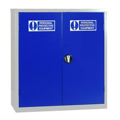 Small Double Door PPE Cabinet Extra strength cabinets manufactured with a welded frame and reinforced doors Anti-bacterial powder coating 3 point Plastic Lockers, Door Locker, Carbon Footprint, Powder Coating, Double Doors, Adjustable Shelving, Locker Storage, Cabinets, Strength