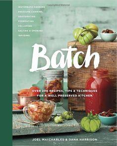 Batch - healthy cookbooks