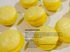 El baúl de las recetas MACARONS