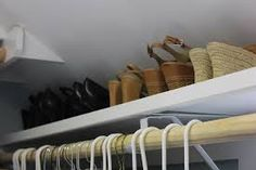 slanted roof closet ideas - Google Search