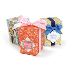 """Sizzix Little Sizzles - 12"""" x 12"""" Moroccan Pre-cut Boxes & Tags, 12 Sheets $14.99"""