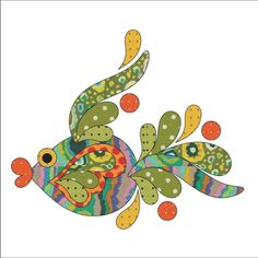 (7) Name: 'Quilting : Applique Add On's -Tropical Fish