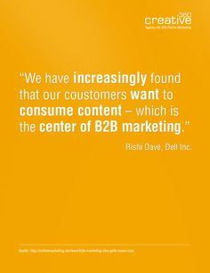 #Content-Marketing #B2B Online-Marketing