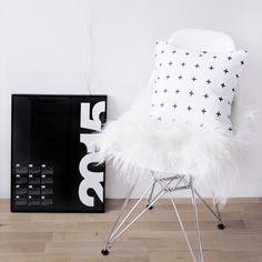Kalendář 2015 Black SLEVA Chair, Furniture, Design, Home Decor, Art, Home, Art Background, Decoration Home, Room Decor
