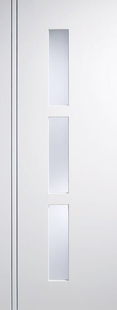 The contemporary Sierra Blanco is fully finished in a beautiful satin white lacquer ready to fit. Featuring silver inserts slightly recessed adding to its very contemporary look. White Internal Doors, Glaze, Satin, Contemporary, Fit, Silver, Stuff To Buy, Beautiful, Home Decor