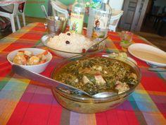 Calou recette guyanaise Banane Plantain, Caribbean Recipes, Caribbean Food, Creole Recipes, Island Food, Gnocchi, Palak Paneer, Guacamole, Good Food