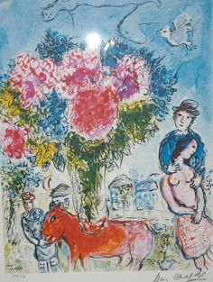 Bouquet, Marc Chagall