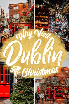 Here are ideas on things to do in Dublin at Christmas, the most magical Christmas Destination. Christmas Travel, Holiday Travel, Christmas Destinations, Travel Destinations, Travel Guides, Travel Tips, Irish Restaurants, Best Of Ireland, Visit Dublin