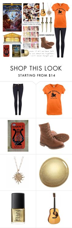 """""""Blood of Olympus!"""" by katherine-hamilton ❤ liked on Polyvore featuring Ted Baker, Timberland, Love Quotes Scarves and NARS Cosmetics"""