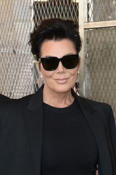 Kris Jenner Boatneck Sweater - Kris Jenner Looks - StyleBistro