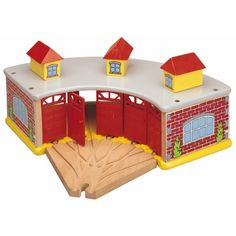 Maxim Big Train Roundhouse with 5Way Track >>> Click image for more details.