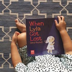 """Thank you for sharing @ohjoy! """"It's scary to think about, but we're starting to talk to Ruby about what to do if she ever gets lost. Thank goodness for kid's books that make these lessons easier to tell."""