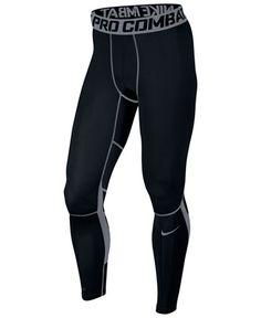 27d040cceaea Nike Men s Pro Combat Hypercool Compression Leggings   Reviews - All  Activewear - Men - Macy s