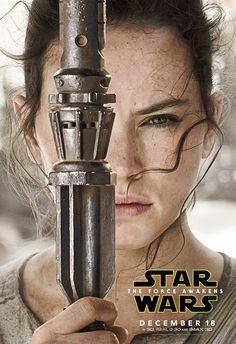 Rey from Star Wars: The Force Awaken
