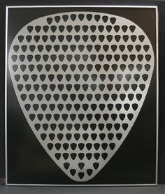 Guitar Pick Display (for all the ones I have collected)