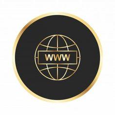 Page Borders Design, Border Design, Logo Design Tutorial, Design Tutorials, Symbol Design, Sign Design, World Icon, Logo Desing, Vip Card