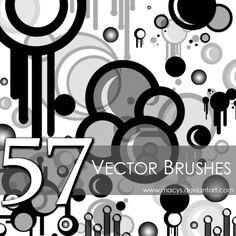 Vector Brushes by macys.deviantart.com