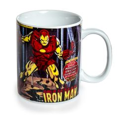 Marvel Comics Iron Man Mug (Multi-Coloured)