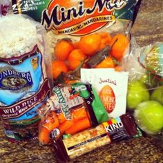Healthy road trip food!  Some old favorites, and some new ones!