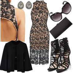 Black Glamour #fashion #mode #look #outfit #style #stylaholic #sexy #dress