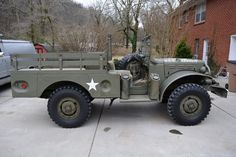 1945 Dodge WC52 US Army 12v Original Restored turn key driver