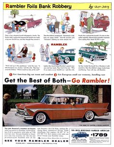 car ads uk cars   Amc Rambler Ambassador De Luxe For Sale 1959 On Car And Classic Uk