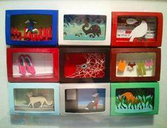 Matchbox Dioramas