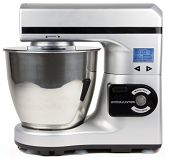 Andrew James Large 7 Litre Automatic Silver Food Stand Mixer