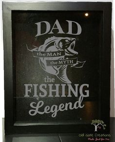 Hey, I found this really awesome Etsy listing at https://www.etsy.com/listing/275406282/fishing-dad-beer-cap-holder-shadow-box
