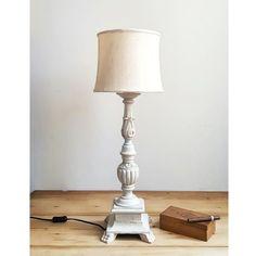 Antico Candelabro in legno convertito a lampada da tavolo / Francia primi 800 | Old Wooden French Candelabrum converted to table lamp, 1800s #old #candelabrum #tablelamp #candelabro #francese